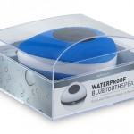 De waterproof bluetooth speaker is stijlvol verpakt